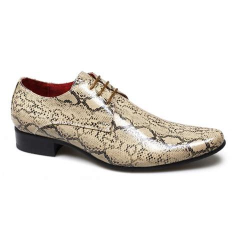 snakeskin sneakers mens rossellini brenzone mens faux snakeskin shoes beige buy