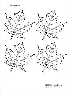 coloring pages maple leaf fall printable parent resources page 1 abcteach