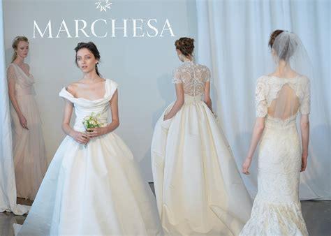 second wedding dresses new york city die highlights der bridal collections 2015 mit marchesa naeem khan oscar de la renta