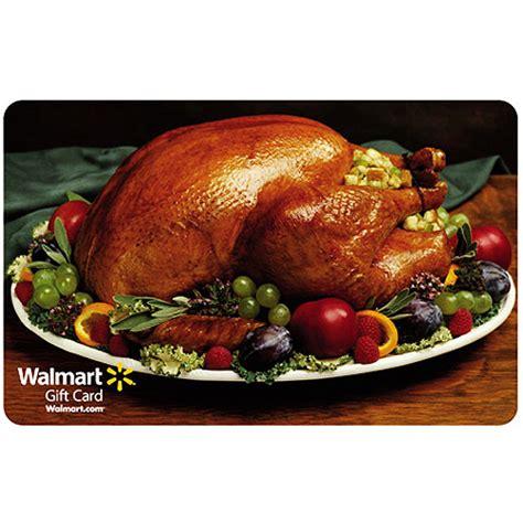 Walmart Turkey Gift Card - holiday turkey gift card gift cards walmart com