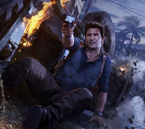 wallpaper 4k uncharted 4 uncharted 4 a thief s end wallpapers or desktop backgrounds
