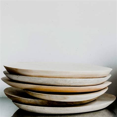 Handmade Plate - handmade wooden plate by the living lounge