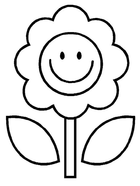 cartoon flower coloring page flower cartoon image az coloring pages