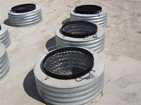 Steel Firepit Ring Pit Rings Cadillac Culvert Inc