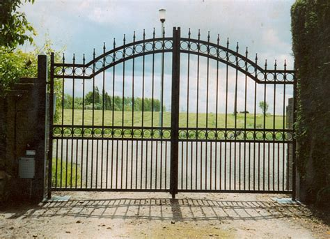 wrought iron gate orchard workshops electric gates gallery south automated remote gates