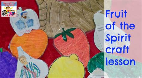 fruit of the spirit crafts for fruit of the spirit craft