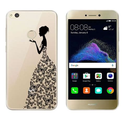 Pochette Telephone Huawei P8 Lite 2017 by Coque Pour Huawei P8 Lite 2017 5 2 Fille Motif Silicone Tpu Gel Tr 232 S Mince
