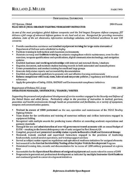 process manager resume exle development doc resume software