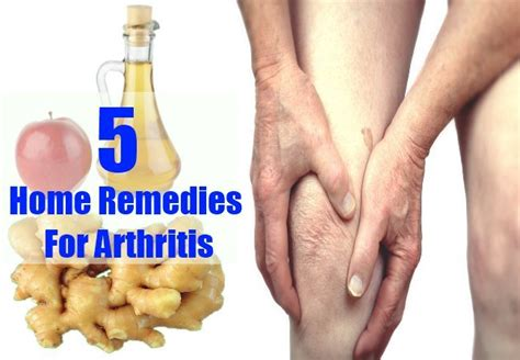 5 arthritis home remedies treatments and cures