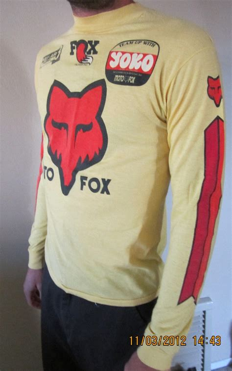 vintage motocross jerseys vintage moto x fox jersey on ebay moto related