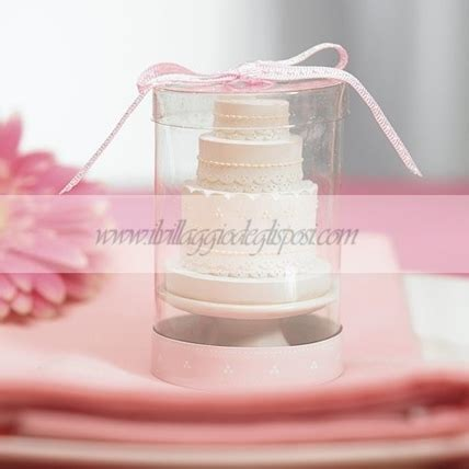 candela a forma di torta vendita segnaposto tema mare