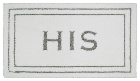 his and hers bathroom rugs mohawk home knitted his and hers 1 8x2 10 quot bath rug flint