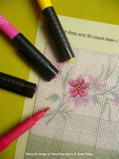 pattern tracing paper with grid how to design your own cross stitch pattern ajisai press
