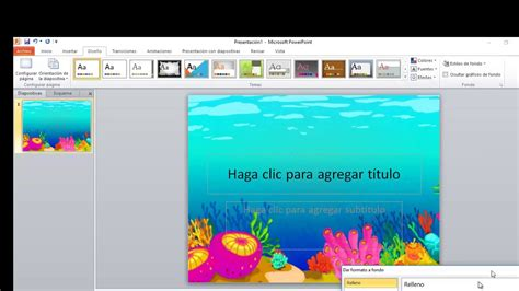 como insertar imagenes con movimiento en power point como poner imagen de fondo en power point 2010 youtube