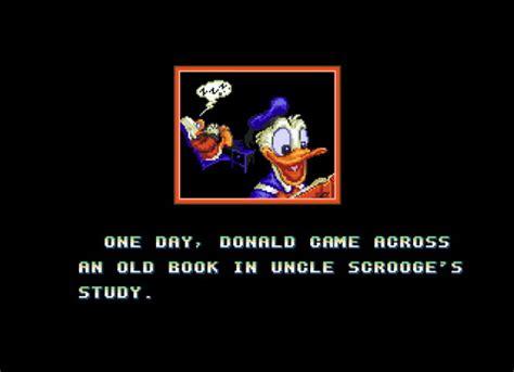emuparadise quackshot quackshot starring donald duck quackshot guruzia ou no