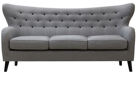 wilfred couch wilfred three seater sofa in stone grey out and out original