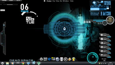 themes for windows 7 design gaming v2 rainmeter theme for windows7