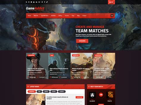 best themes in games 35 best wordpress gaming themes 2018