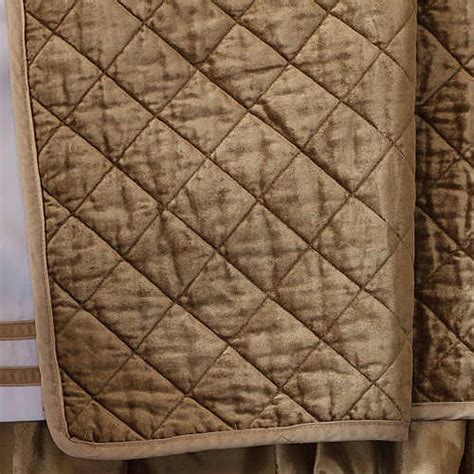 diamond quilted coverlet lili alessandra chloe diamond quilted straw velvet