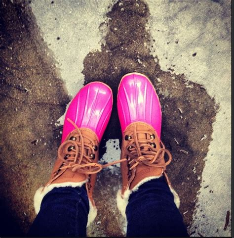 pink duck boots pink duck boots clothing