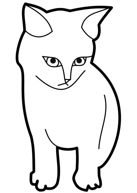 coloring page for cat cat coloring pages 2 coloring lab