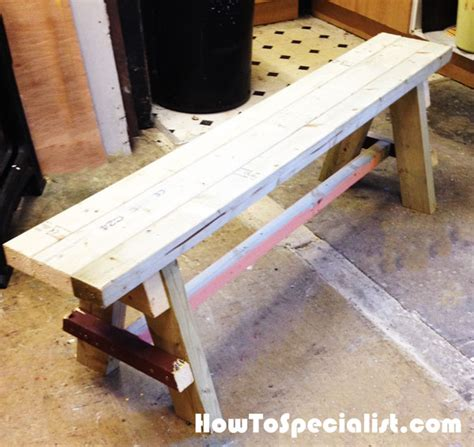 plans to build a bench seat diy bench seat howtospecialist how to build step by