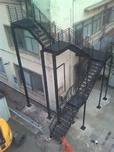 Fire Escape Stairs Regulations by Steel Fire Escape Stairs Morris Fabrications Ltd