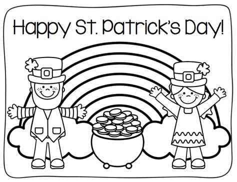 preschool coloring pages for march st patrick s day coloring page teaching pinterest