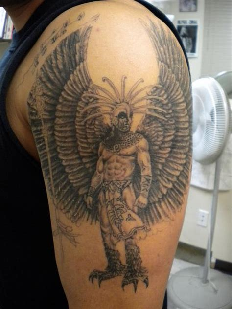 imagenes tatuajes guerreros aztecas tatuajes de guerreros aztecas batanga