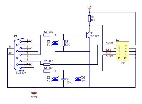 usb to rs232 schematic usb free engine image for user