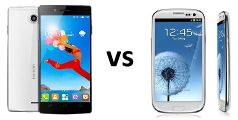 Samsung X 7 Comparativa Iocean X7 Hd Vs Samsung Galaxy S3