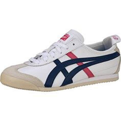 Sepatu Sneakers Asics Onitsuka White Black Blue Grade Original 36 40 asics onitsuka tiger fencing shoes in white and blue