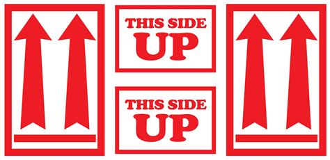 400 4 3 8x9 this side up with arrows labels stickers ebay