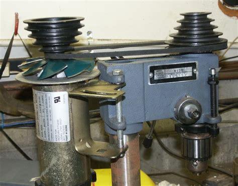 Pres Motor treadmill motor on drill press