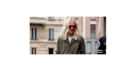 haircuts poland maine streetstyle ice blond hair with wavy lengths