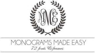 Free Monogram Templates Gallery For Gt Free Monogram Templates
