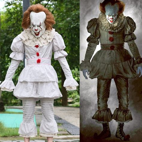 It Pennywise Clown Mask Costume easy it costumes to scare your friends with