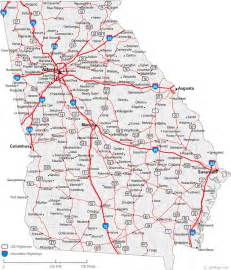 Ga State Map by Map Of Georgia Cities Georgia Road Map