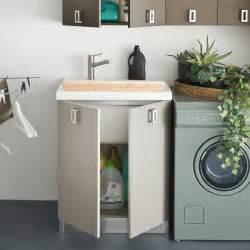 meuble de buanderie atlantic avec lavabo arredaclick
