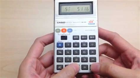 calculator the game casio mg 880 calculator with melody and quot invaders quot game