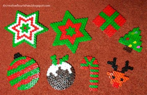 creative flourishes bead christmas decorations