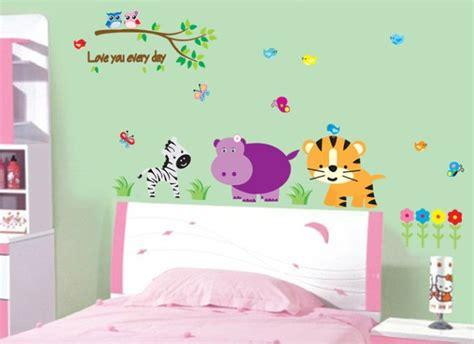 Wallstiker Animals Wall Stiker Stiker Dinding jual stiker kamar anak stiker dinding murah