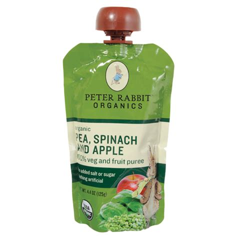 Peachy Pouch Apple Spinach Sweet Potato Puree bettymills pea spinach apple puree pouch