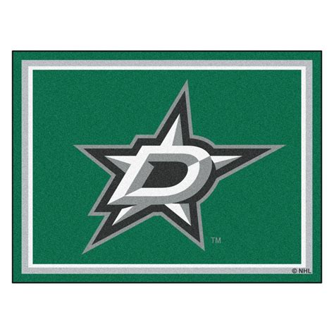 fanmats nhl dallas stars green  ft   ft indoor area