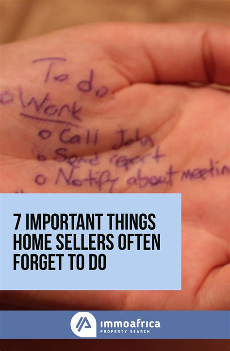 necessary things for house 7 important things home sellers often forget to do