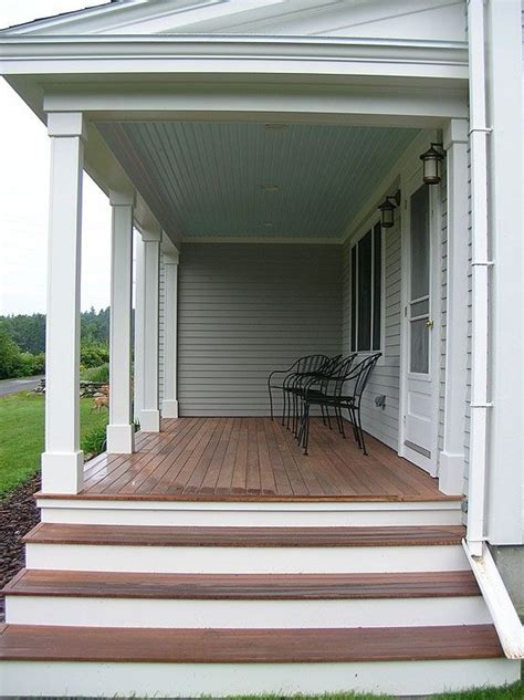 Front Staircase Design Front Porch Steps Ideas My Future Home