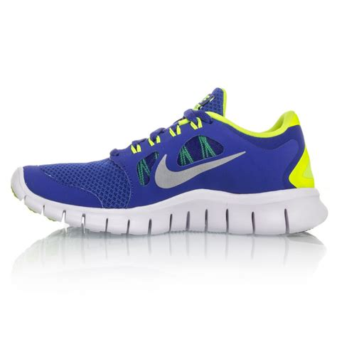 nike boys athletic shoes nike free 5 0 gs boys running shoes blue yellow