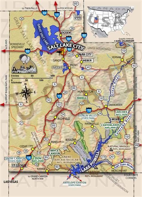 Maps Utah by Utah Map Interactive Map Of Utah Tours And Adventures