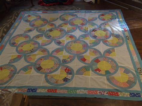 quilt pattern japanese vintage japanese fan block quilt top finished tim