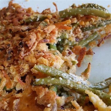 grandmas green bean casserole green beans baked  sour